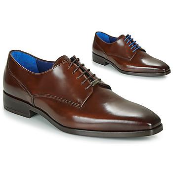 kengät Miehet Derby-kengät Azzaro POIVRE Brown