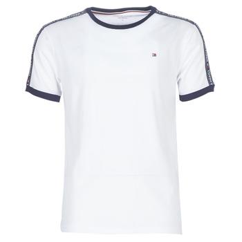 vaatteet Miehet Lyhythihainen t-paita Tommy Hilfiger AUTHENTIC-UM0UM00563 White