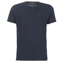 vaatteet Miehet Lyhythihainen t-paita Tommy Hilfiger COTTON ICON SLEEPWEAR-2S87904671 Laivastonsininen