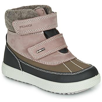 kengät Tytöt Talvisaappaat Primigi PEPYS GORE-TEX Vaaleanpunainen / Ruskea