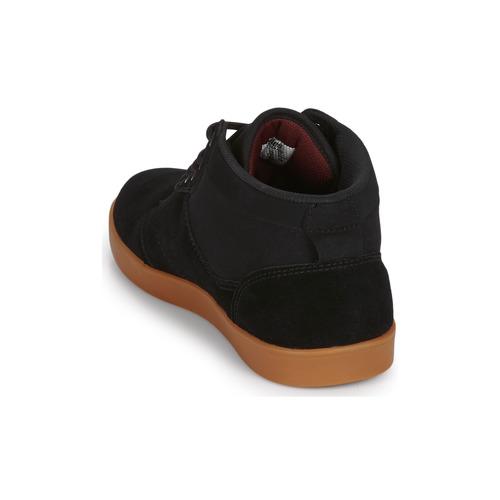Etnies Jefferson Mid Black - Ilmainen Toimitus- Kengät Korkeavartiset Tennarit Miehet 64