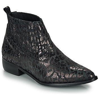 kengät Naiset Bootsit Ippon Vintage GILL ARTY Black