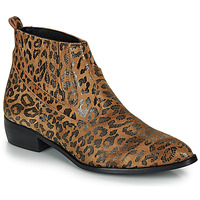 kengät Naiset Bootsit Ippon Vintage GILL ARTY Camel