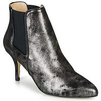 kengät Naiset Nilkkurit Ippon Vintage SILVER LAKE Black / Hopea