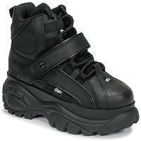 kengät Naiset Korkeavartiset tennarit Buffalo 1348 Black