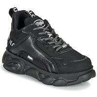 kengät Naiset Matalavartiset tennarit Buffalo CHAI Black / White