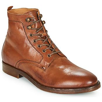 kengät Miehet Bootsit Kost MILITANT 17 Cognac