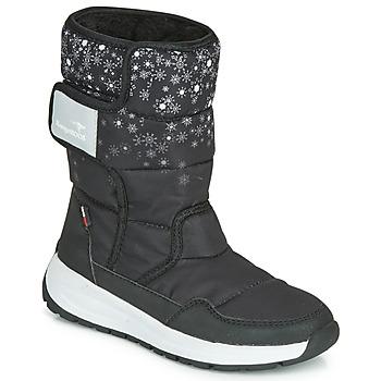 kengät Naiset Kumisaappaat Kangaroos K-FLUFF RTX Black / Grey
