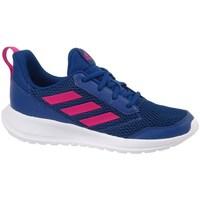 kengät Lapset Matalavartiset tennarit adidas Originals Altarun K Tummansininen,Vaaleanpunaiset