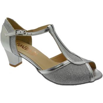 kengät Naiset Korkokengät Angela Calzature Ballo SOSO252ar grigio