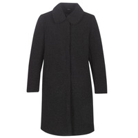 vaatteet Naiset Paksu takki Le Temps des Cerises DOLL Black