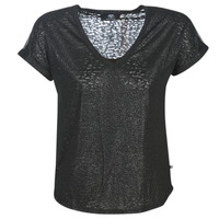 vaatteet Naiset Lyhythihainen t-paita Le Temps des Cerises OKINAWA Black