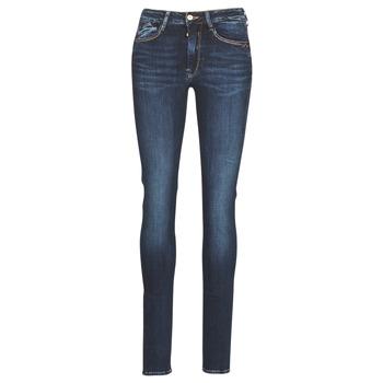 vaatteet Naiset Slim-farkut Le Temps des Cerises PULP HIGH SLIM Blue