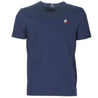 vaatteet Miehet Lyhythihainen t-paita Le Coq Sportif ESS TEE SS N°2 M Blue / Laivastonsininen