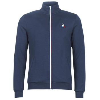 vaatteet Miehet Ulkoilutakki Le Coq Sportif ESS FZ SWEAT N°2 M Blue / Laivastonsininen