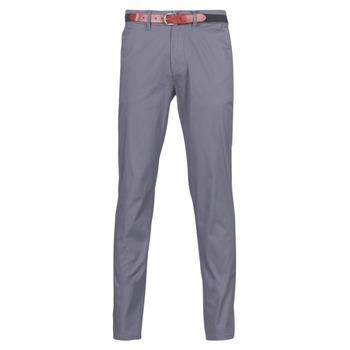 vaatteet Miehet Chino-housut / Porkkanahousut Selected SLHSLIM Grey