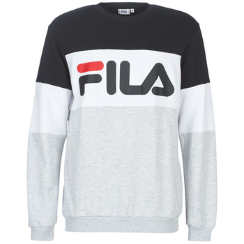 vaatteet Miehet Svetari Fila STRAIGHT BLOCKED CREW Grey / Black