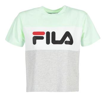 vaatteet Naiset Lyhythihainen t-paita Fila ALLISON TEE Blue / Grey