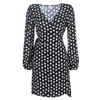 vaatteet Naiset Lyhyt mekko Billabong LOVE WARRIOR Black