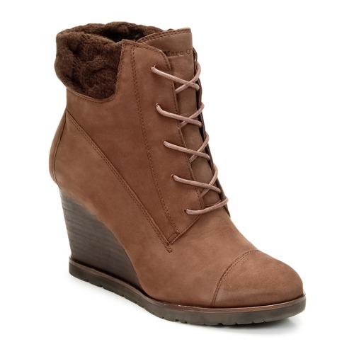 kengät Naiset Nilkkurit Marc O'Polo TIANAT Brun