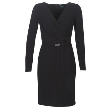 vaatteet Naiset Lyhyt mekko Lauren Ralph Lauren ALEXIE Black