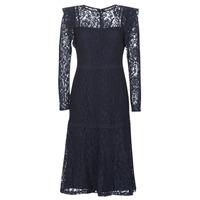 vaatteet Naiset Lyhyt mekko Lauren Ralph Lauren BLAIR Laivastonsininen