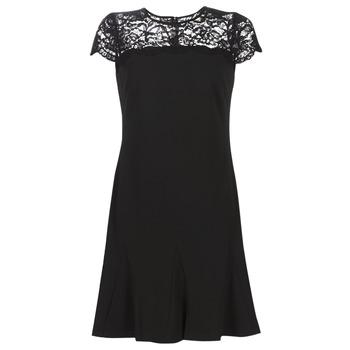 vaatteet Naiset Lyhyt mekko Lauren Ralph Lauren CALLY Black