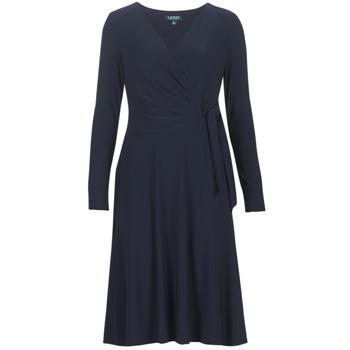 vaatteet Naiset Pitkä mekko Lauren Ralph Lauren COREEN Laivastonsininen