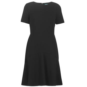 vaatteet Naiset Lyhyt mekko Lauren Ralph Lauren BABA Black