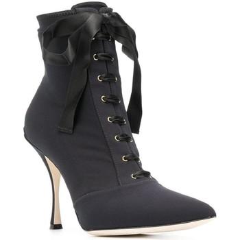 kengät Naiset Nilkkurit D&G CT0471 AZ161 nero
