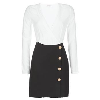 vaatteet Naiset Lyhyt mekko Moony Mood LUCE Black / White