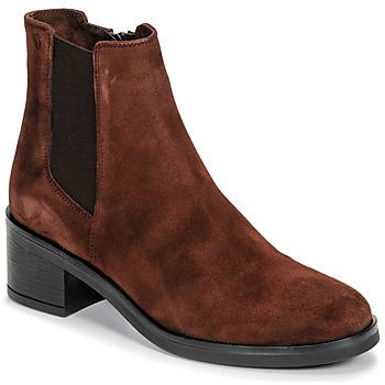 kengät Naiset Nilkkurit Casual Attitude LIOO Camel