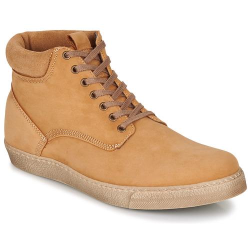 kengät Miehet Bootsit Casual Attitude LEO Beige