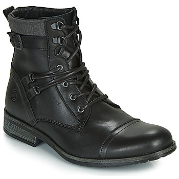 kengät Miehet Bootsit Casual Attitude RIVIGH Musta