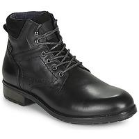kengät Miehet Bootsit Casual Attitude LULLY Black