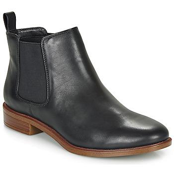 kengät Naiset Bootsit Clarks TAYLOR SHINE Black