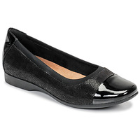 kengät Naiset Balleriinat Clarks UN DARCEY CAP Black