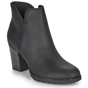 kengät Naiset Nilkkurit Clarks VERONA TRISH Black