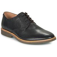 kengät Miehet Derby-kengät Clarks ATTICUS LACE Black