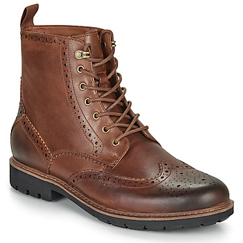 kengät Miehet Bootsit Clarks BATCOMBE LORD Camel
