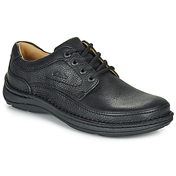 kengät Miehet Derby-kengät Clarks NATURE THREE Black