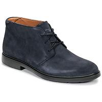 kengät Miehet Bootsit Clarks UN TAILOR MID Laivastonsininen