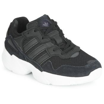 kengät Lapset Matalavartiset tennarit adidas Originals YUNG-96 C Black