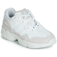 kengät Lapset Matalavartiset tennarit adidas Originals YUNG-96 C Valkoinen