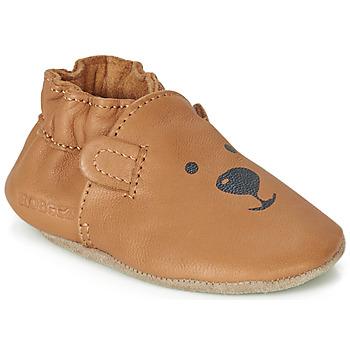 kengät Lapset Vauvan tossut Robeez SWEETY BEAR Camel