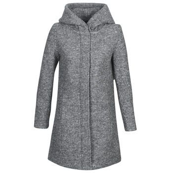 vaatteet Naiset Paksu takki Vila VICANIA Grey
