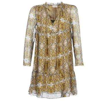 vaatteet Naiset Lyhyt mekko Moony Mood LONI Yellow