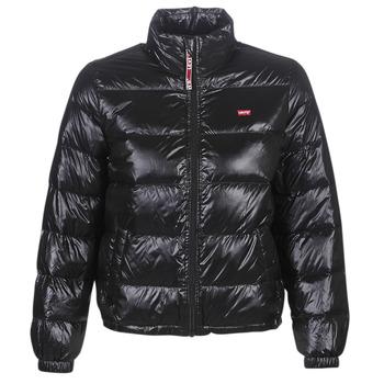 vaatteet Naiset Toppatakki Levi's FRANCINE DOWN PCKBLE JKT Black