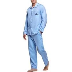 vaatteet Miehet pyjamat / yöpaidat Impetus 1563309 789 Sininen