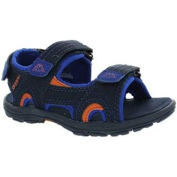 kengät Pojat Sandaalit ja avokkaat Kappa Early II Mustat, Vaaleansiniset, Oranssin väriset